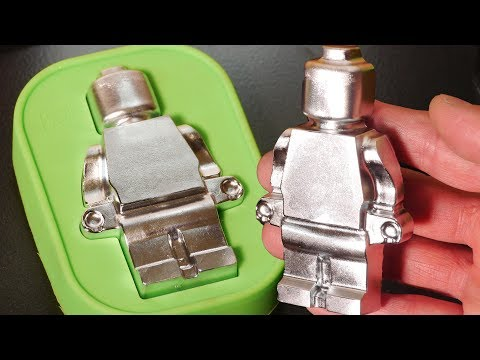 DIY Large Metal Lego-Style Figures - Gallium