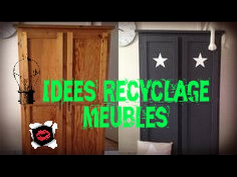63 id es de recyclage de meubles avant et apr s youtube. Black Bedroom Furniture Sets. Home Design Ideas