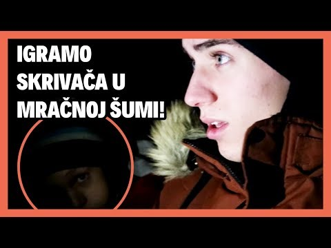 IGRA SKRIVAČA S LEONOM U MRAČNOJ ŠUMI! | TheSikrt