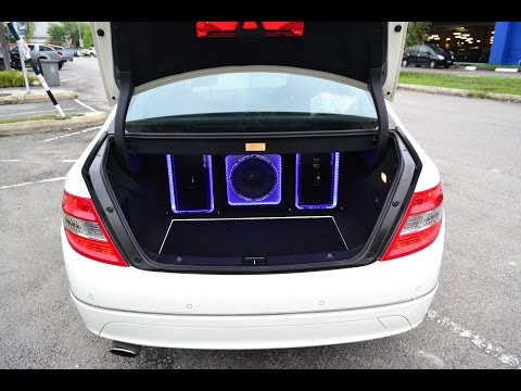 MERCEDES C-CLASS C200 W204 MALAYSIA MERCURY SOUND SYSTEM UPGRADE