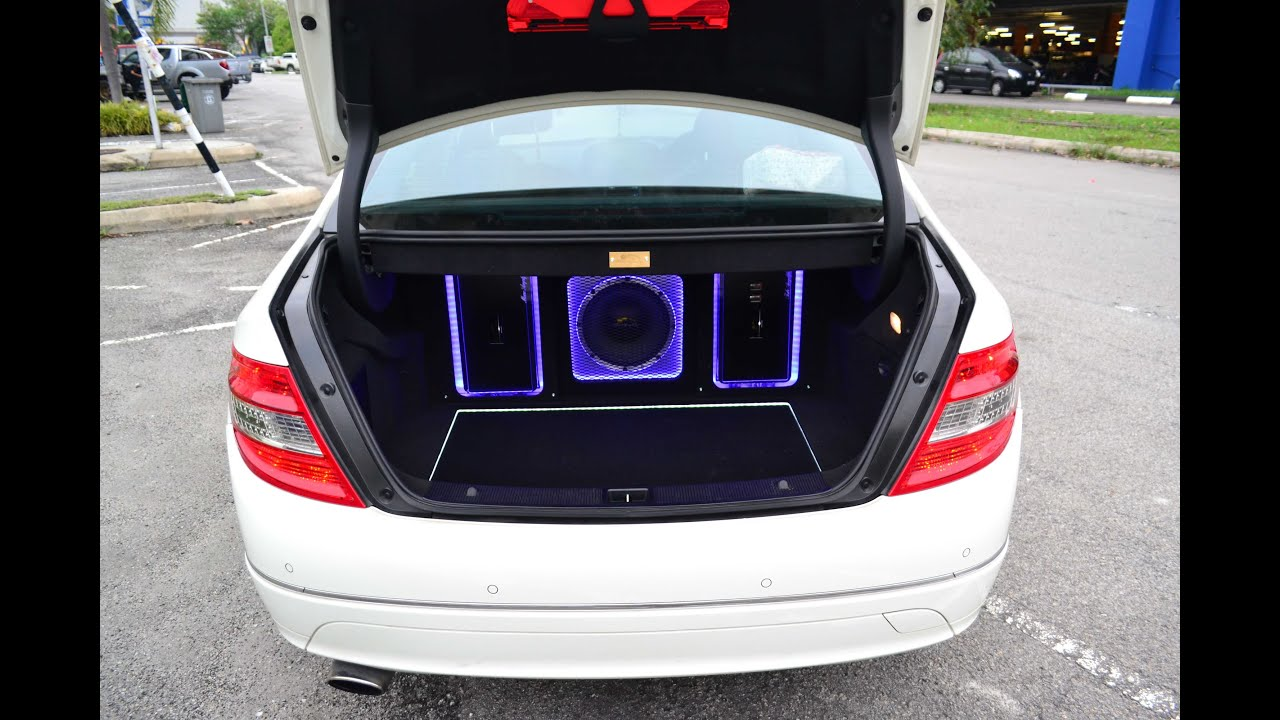 Mercedes c class c200 w204 malaysia mercury sound system for Mercedes benz audio upgrades