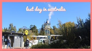 travel with me | last day in australia