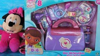 Gioco dottoressa peluche la valigetta di dottie disney set doctor's bag set doc mcStuffins toys