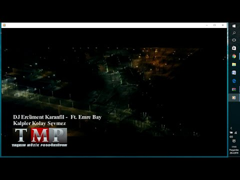 DJ Ercüment Karanfil - Kalpler Kolay Sevmez ft. Emre Bay (Official Video )