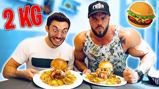 2 KG DI HAMBURGER Danny vs Murry | finito strano