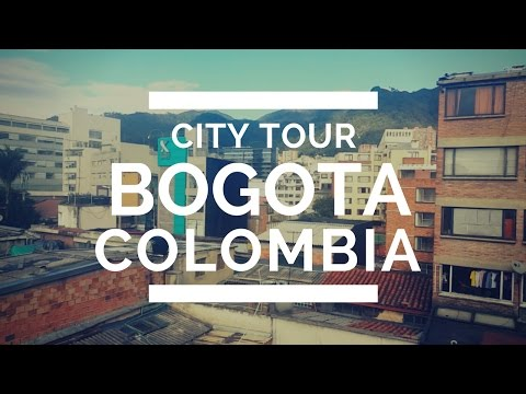 BOGOTA COLOMBIA: CITY TOUR and Public Transportation Transmilenio [#54]