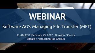 Software AG Managing File Transfer (MFT)