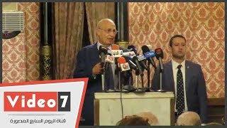 نبيل شعث: الدور الذى لعبه عمرو موسى فى القضية الفلسطينية جعل له شعبية كبرى لدينا