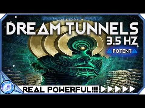 ENTER THE 4TH DIMENSION: 3.5Hz Theta Binaural Beats Meditation Music - Theta Frequency Music
