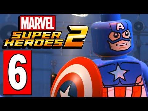 LEGO Marvel Super Heroes 2 Walkthrough Part 6 HYDRA EMPIRE VIBRANIUM SAMPLES / KLAW & BARON ZENO