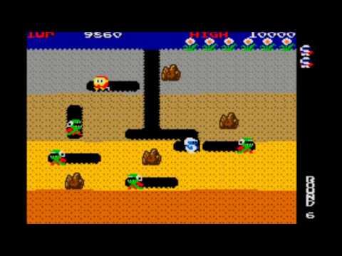 (Arcade) Dig Dug 1982 - Namco - Cabeça Games
