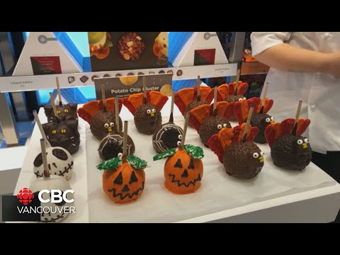 Making Spooky Treats With Rocky Mountain Chocolate