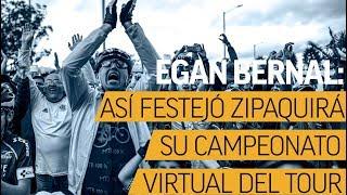 Tour de Francia: así celebró Zipaquirá el título virtual de Egan Bernal | Noticias | El Espectador