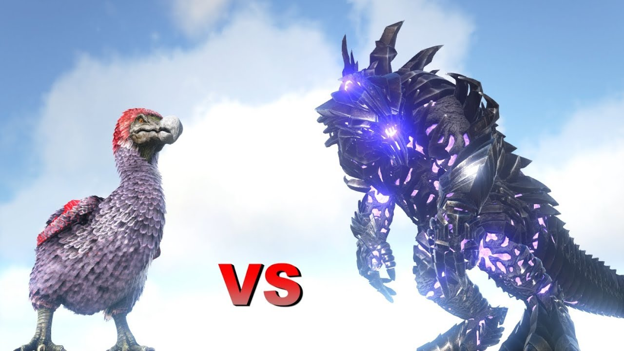 OP Dodo Level 1,000,000 vs Alpha King Titan || ARK: Survival Evolved ||  Cantex