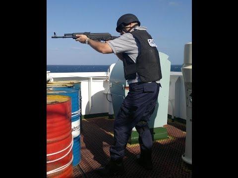 Preparing for Somali Pirate Attack 2013