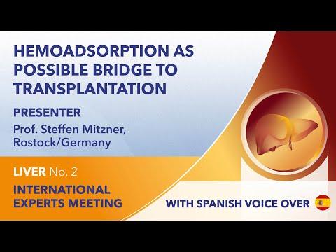 La hemoadsorción como posible puente al trasplante | Steffen Mitzner | Hígado Webinar No. 2