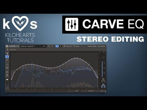 Carve EQ Tutorial - Stereo Editing