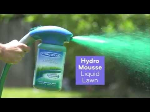 Thane Hydro Mousse Liquid Lawn Garden Seeder Garden Hose Grass Turf Seed Spray Dog Patch Spot Repair