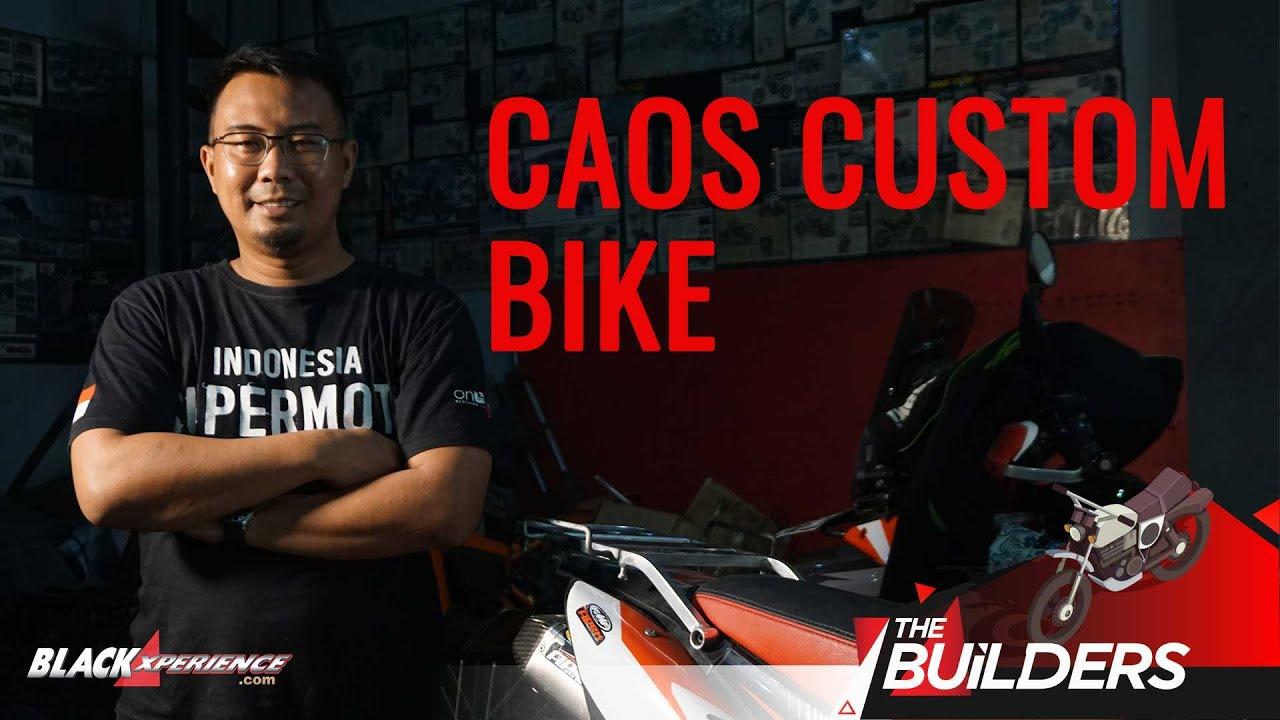 Bertandang ke Pakarnya Dunia Supermoto, CAOS Custom Bike | The Builders - S1 • E3