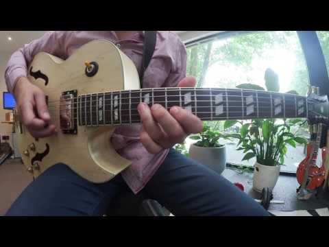 Jazz Guitar Summertime Melody & Solo