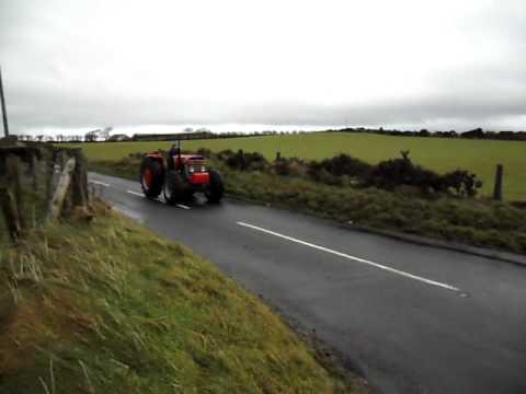 Ballintoy Church Christmas Tractor Run 2011