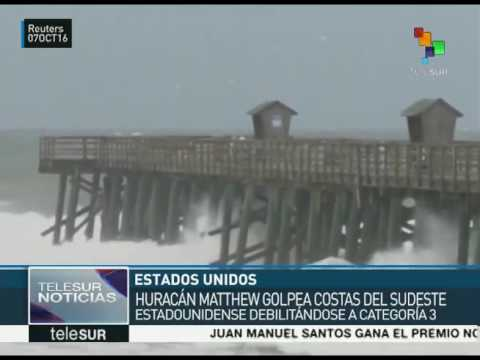 EEUU: Obama declara emergencia en Florida, Georgia y Carolina del Sur