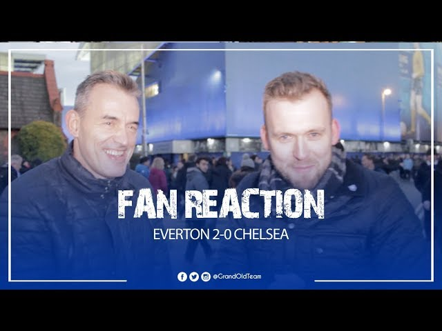 Everton 2-0 Chelsea - We Need To Show That Passion and Commitment More Often