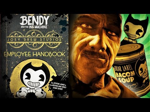 Joey Drew Studios Employee Handbook Review (BATIM Book)