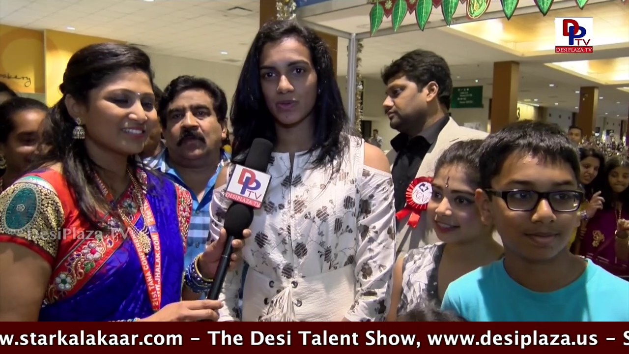 Interview with PV Sindhu - Olympic Medal winner at  TANA Conference - 2017 - St Louis