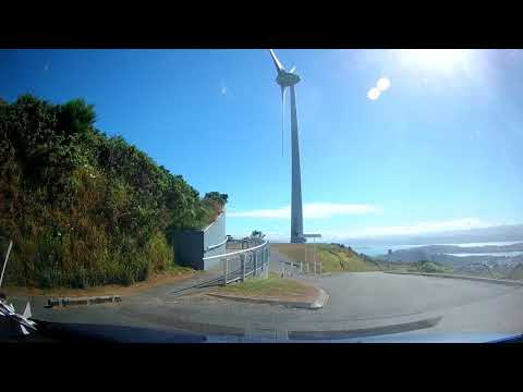 Dashcam - 2 Brooklyn Wind Turbine and WW2 Bunkers