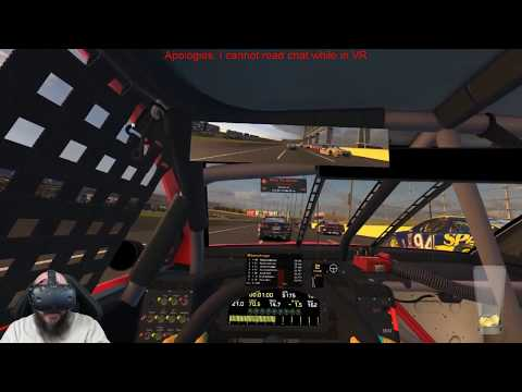 iRacing in VR | Integrity Racing League | Charlotte Motor Speedway