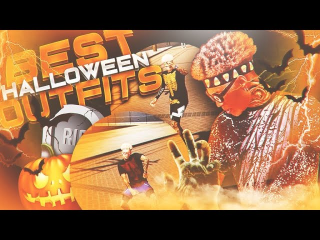 BEST HALLOWEEN OUTFITS ON NBA 2K19 ???? LOOK LIKE A DRIBBLE GOD NOW! BEST DRIPPY PATCH CLOTHES ????