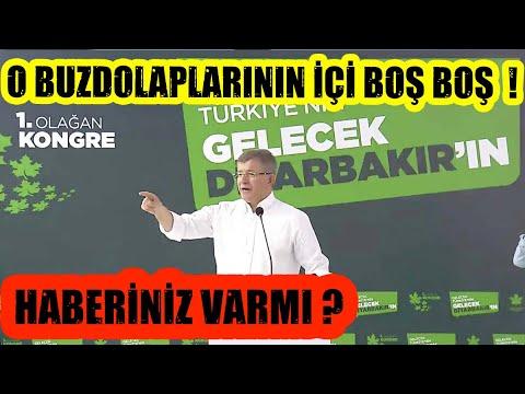 Davutoğlu'ndan CB Erdoğan'a Flaş Buzdolabı Yanıtı ! Berat Albayrak'a Sert Çıkış !