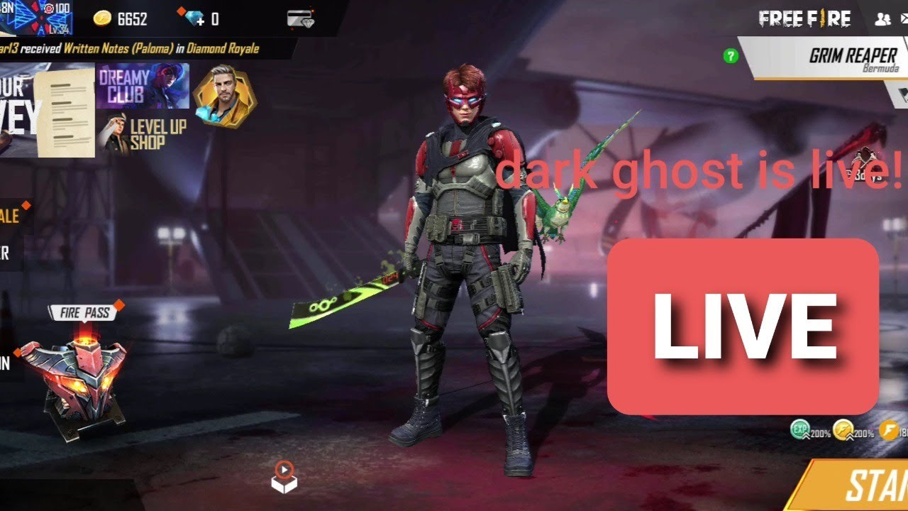 Dark Ghost Is Live Youtube