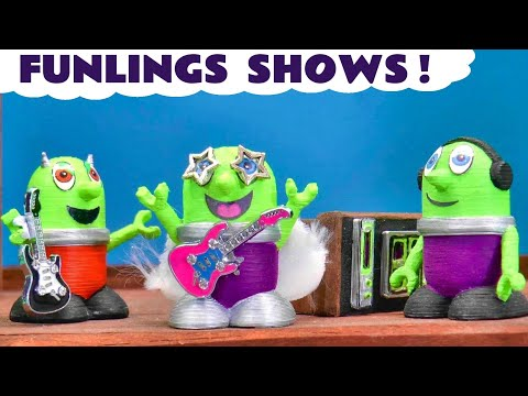 The FUNLINGS Talent Shows - Toy Stories with Funlings Toys