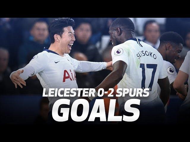 HEUNG-MIN SON WONDER STRIKE! | Leicester City 0-2 Spurs