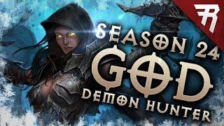 Diablo 3 2.7.1 Deṁon Hunter Build: Gears of the Dreadlands GoD GR 144+ (Season 24 Guide)