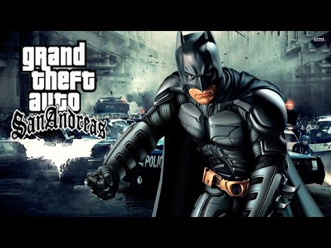 HOW TO INSTALL BATMAN MOD IN GTA SAN ANDREAS