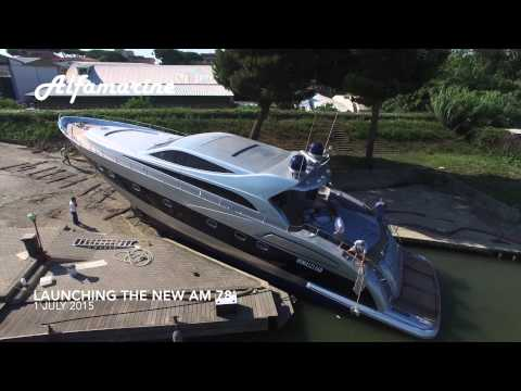 Alfamarine 78' 810 Yacht, Costruzione e Varo/Construction and Launch