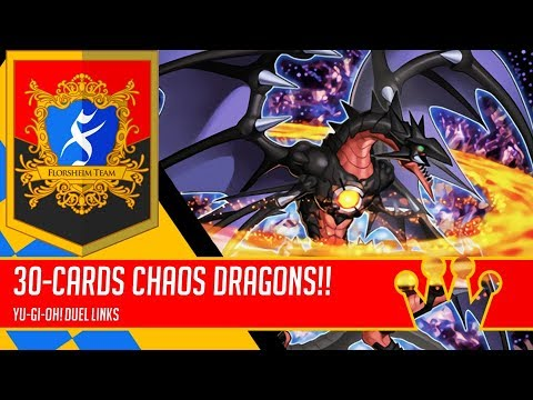 30-cards Chaos Dragons | Arkbrave Dragon and Friends | King of Games [Yu-Gi-Oh! Duel Links]