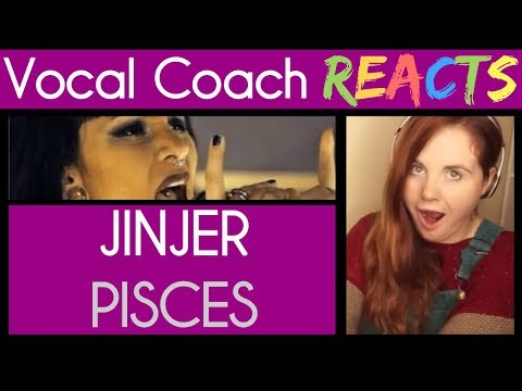 Vocal Coach reacts to JINJER - Pisces (Live Session) | Napal