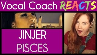 Vocal Coach reacts to JINJER - Pisces Live Session Napalm Records