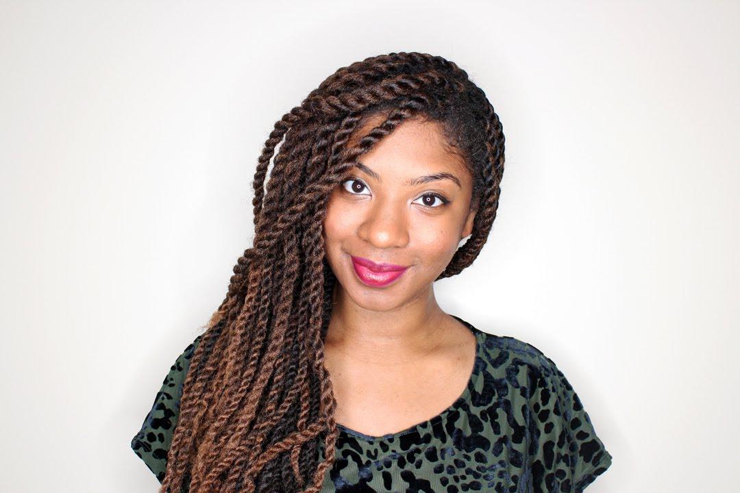 How To Do Marley Twists With Shea Moisture Youtube