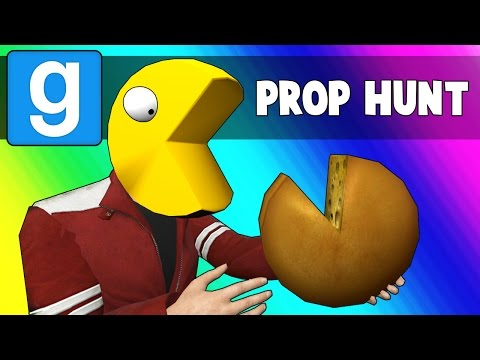 Gmod Prop Hunt Funny Moments - A Pac-Man's Little Bitch (Garry's Mod)