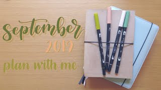 Plan With Me | September 2019