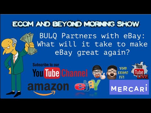 Bulq Partners With Ebay Ecom And Beyond Live Morning Show Youtube