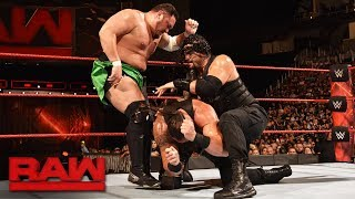 Video Roman Reigns vs. Braun Strowman vs. Samoa Joe - Triple Threat Match: Raw, July 31, 2017 download MP3, 3GP, MP4, WEBM, AVI, FLV Juli 2018