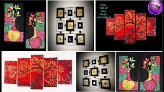 3 Diy Wall Art Decor | Art And Craft | Do It Yourself | Fashion Pixies | Craft