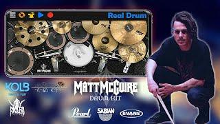 Matt McGuire _ Preset kit on Realdrum App by VRD kits