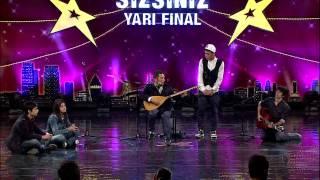 Yetenek Sizsiniz Yunus Kral and Emosh vs Salih Beatbox'ın Yarı Final Performansı
